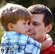 Detektei - Grafik Sorgerechtsangelegenheiten - Vater mit Jungen